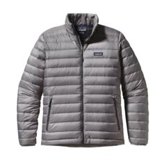 Patagonia - Down Sweater Gris Hombre