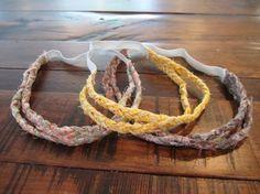 DIY: braided fabric headbands