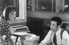 "Laurie Metcalf and Andy Garcia in ""Internal Affairs"" (1990)"