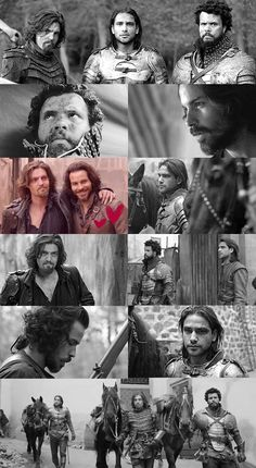 Series 3 montage- The Musketeers