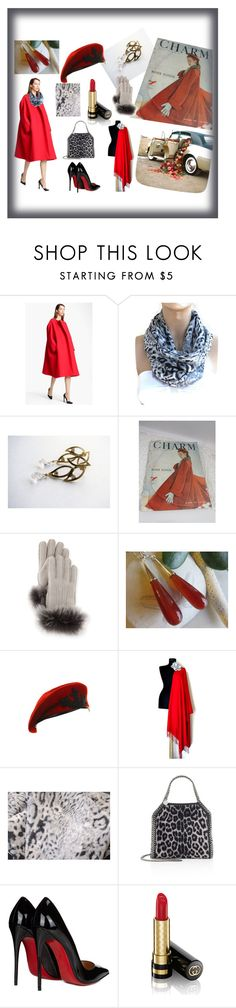 """""""Once & Again"""" by rosa-shawls ❤ liked on Polyvore featuring Jil Sander, UGG, Fortuna, STELLA McCARTNEY, Christian Louboutin, Gucci, etsy and supportsmallshops"""