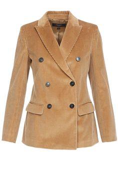 Двубортный вельветовый пиджак Weekend Max Mara Presents, Coat, Jackets, Fashion, Down Jackets, Moda, Gifts, Fasion, Peacoats
