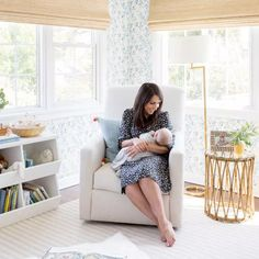 Tour an adorable gender-neutral nursery designed by the founder of home décor brand Lulu & Georgia, Sara Sugarman Brenner.