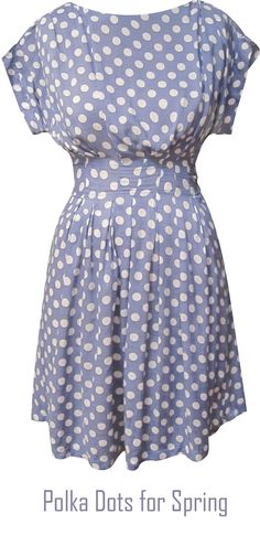 Polka dots are still hot this spring and summer - photo eucalyptus prshots - http://boomerinas.com/2012/04/chic-polka-dot-clothing-for-women-the-new-black-and-white/