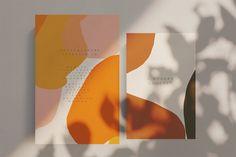 Papery & Stationery Artisan Abstract - Artistic Bundle ~ Illustrationen ~ Kreativmarkt Get The Right Abstract Shapes, Abstract Pattern, Floral Illustrations, Graphic Illustration, Logo Mano, Packaging Design, Branding Design, Stationery Design, Identity Branding