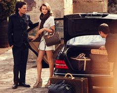 Louis Vuitton luggage!! A must have... One dream