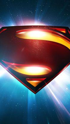 Superman Space Logo Man Of Steel iPhone 6 Wallpaper Download ...