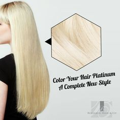 #PlatinumHair is great for all skin complexions. There are certain styles that go with #Blonde like white platinum hair with blunt cut make you look hot. This way there are more beautiful and awesome looking styles. Get your hot #PlatinumHairColorSanAntonio.   #HairColorist, #HairColor, #BenjaminHairCo