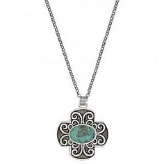 Make a statement with this Montana Silversmith Four Winds Necklace! And it's on sale :) #statement #jewelry #turquoise #ootd
