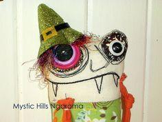 Monster Cloth  Doll Shamus the Irish by MysticHillsNgaroma on Etsy