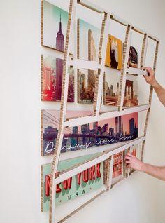 Ogu.nu | Bijzondere foto collage op karton en handig hulpframe bij het ophangen (vanaf €129)