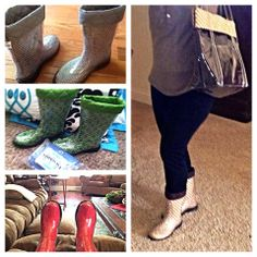 Happy #TwoAlity customers!!! We LOVE the matching #Boots and #TwoAlity tote, Deb! <3 #SnowInMO #BootsByTwoAlity #MadeintheUSA