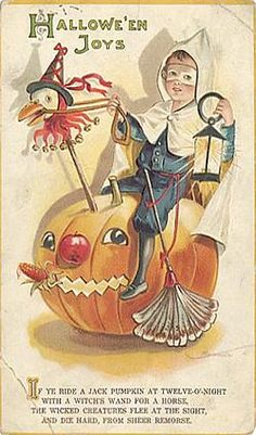 Antique Halloween Cards - Page 23