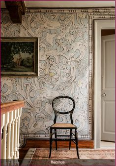 Lewis and Wood Bacchus wide width wallpaper - fabric available too. Oh my.