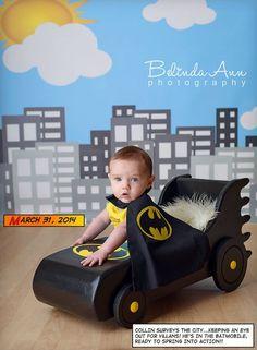 EDICIÓN limitada Batmobile foto Prop fotografía por MrAndMrsAndCo Newborn Photography Props, Newborn Photo Props, Newborn Photos, Baby Boy Photos, Boy Pictures, Baby Images, Cute Batman, Batman Birthday, Batmobile