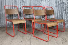 The 'Chelsea Plus' comes in three great colours! Perfect for any bar or restaurant. #stackingchair #restaurantchair #barfurniture #red #ChelseaPlus