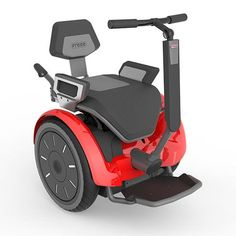 Der Freee Segway im Sitzen - Freee Quadriplegic, Wheelchair Accessories, Powered Wheelchair, Spinal Cord Injury, Disabled People, Cycle Chic, Electric Scooter, Disability, Super Cars