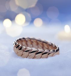 Stand out from the crowd with this brilliant Bucherer rose gold bangle#ChristmasMagic #wishlist