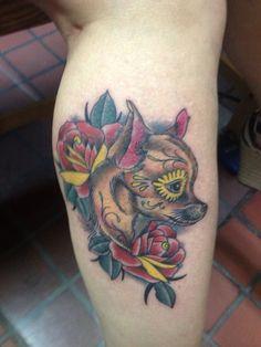 Tattoo chihuahua idea