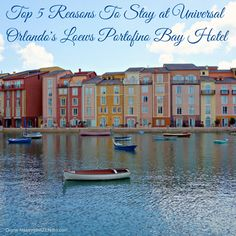 Check out this list of the top 5 reasons why you should consider staying at Loews Portofino Bay Resorts at Universal Studios Orlando #travel