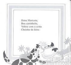 Atelie Doce Magia em Ensinar: HISTORINHA - A CESTA DA DONA MARICOTA Education, Reading, Professor, Teacher, Facebook, Children's Literature, Index Cards, Hampers, Second Best