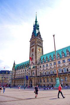 https://flic.kr/p/uXX7k6 | Hambourg en Mai - 59 Rathaus - Hôtel de Ville
