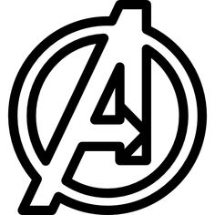 The Avengers Logo Character Wall Art Sticker Vinyl Decal - Girls Boys Kids Bedroom School House Wall Vinyl Sticker Decor Peel and Stick Doug Cartoon, Superhero Emblems, Avengers, Logo Character, Mask Painting, Free Comics, Photoshop, Creative Posters, Vector Photo