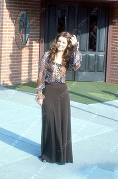 """Priscilla outside her boutique """"Bis and Beau"""" in California"""