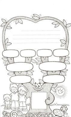 Family Tree Worksheet Printable Beautiful 4 Free Family Tree Templates for Genealogy Craft or – Tate Publishing News Spanish Worksheets, Kindergarten Worksheets, Worksheets For Kids, Classroom Activities, Scout Activities, Family Tree For Kids, Trees For Kids, Free Family Tree, Family Trees