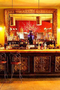 La Coronela Bar at Hotel California in Todos Santos, Mexico