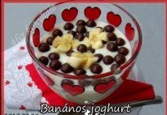 Banános joghurt Pudding, Favorite Recipes, Desserts, Food, Yogurt, Tailgate Desserts, Deserts, Essen, Puddings