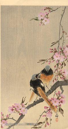 Oriental art. By Koson Ohara.