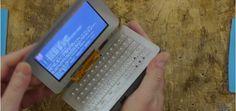 Construye un mini ordenador portátil con una Raspberry Pi Zero #raspberrypi #diy #makers #tecnologia