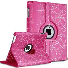 DN-Technology Diamond Bling Sparkly Gem Glitter Leather Flip Case Cover Pouch For Apple iPad 2nd / 3rd / 4th Generation With Stylus (Pink) D & N http://www.amazon.co.uk/dp/B00H10JTZ4/ref=cm_sw_r_pi_dp_kdNBwb1JNMPQR