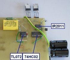 ampli classe d 50w a 300w schema 4 Box Design, Power Strip, Audio Amplifier