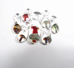 Glass mushroom pendants wholesale jewelry supplies by glass glass mushroom pendants wholesale jewelry supplies by glass peace 2495 lampwork focal beads pinterest glass mushrooms jewelry supplies and glass aloadofball Image collections
