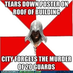 That's Assassin's Creed for you.