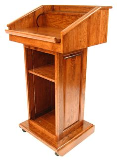 Podium plans lectern plans how to build a amazing diy solid wood podium converts to tabletop lectern malvernweather Image collections