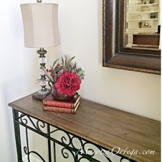 Entrance Table Vignette   MaritzaOrtega.com Entrance Table, Entryway Tables, Home Staging, Simple, Diy, Inspiration, Furniture, Ideas, Home Decor