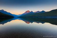 Polebridge Bowman Lake, Glacier National Park, Montana