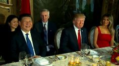 Body Language:  Trump Dines with China While Bombing Syria
