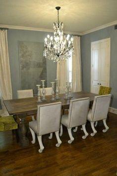 Rustic Luxe Dining Room - eclectic - dining room - dallas - Melinda Faranetta
