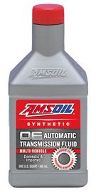 AMSOIL OE Synthetic Automatic Transmission Fluid provides passenger-car/light-truck transmissions excellent wear protection, sludge resistance and extreme-temperature performance throughout original equipment manufacturer (OEM)-recommended drain intervals.