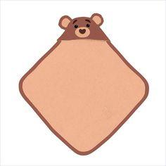 Apple Park Cubby Hooded Towel