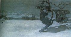 Giovanni SEGANTINI, Le cattive madri, 1894, graffito su cartone, Zurigo, Kunsthaus