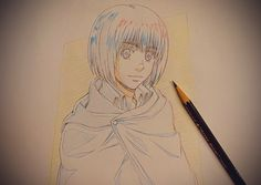 Armin, Attack On Titan, Photo Wall, Community, Japanese, Illustration, Wall Photos, Conversation, Twitter