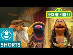 """Sesame Street: Leonardo da Crunchy's """"The Muncha Lisa"""" - YouTube 3:35"""