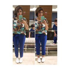 Looks Instagram, Fajardo, Capri Pants, Fashion, Top Coat, Moda, Fashion Styles, Capri Trousers, Fashion Illustrations