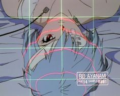 Rei Ayanami under medical operation