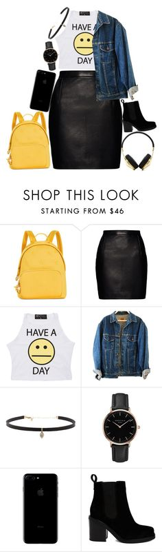 """""""my college outfit"""" by hollieking ❤ liked on Polyvore featuring Tommy Hilfiger, Magda Butrym, Carbon & Hyde, Topshop, ASOS and Frends"""
